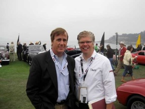 Matthew and Danny Sullivan at Pebble Beach