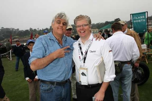 Jay Leno and I at Monterey