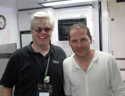 Matthew and F1 World Champion Jacques Villeneuve