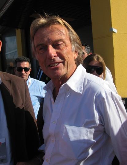 Luca Cordero di Montezemolo - the chairman of Ferrari and Fiat