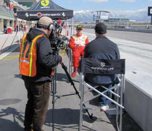 Drive Interview of Ted Skokos at Miller during Ferrari Challenge 2010