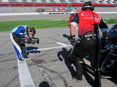 Drive Shooting at 2010 Rolex 24