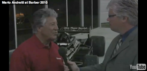 Mario Andretti and Matthew Barksdale