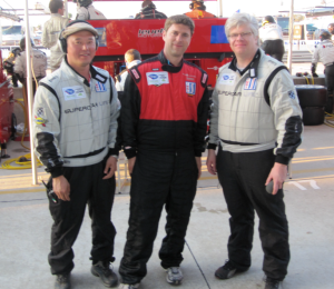 Matthew Barksdale and part of Drive Team at 2010 Sebring