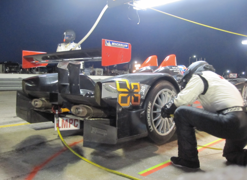 Sebring 2010 Night Pit Stop